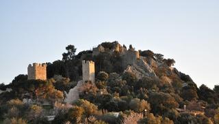 Remparts et vestiges du château - Hyères