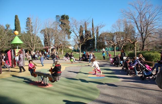 Le parc Olbius Riquier 17 - Hyères